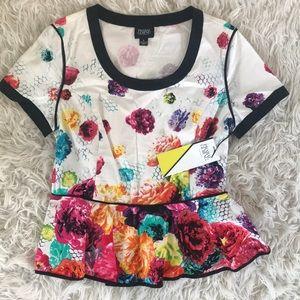 Prabal Gurung for Target peplum blouse